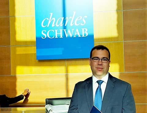 Joseph Thorne (MBA '19), CRE Design Manager Intern at Charles Schwab Intern Academy for Corporate Real Estate